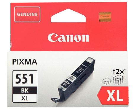 Cartouche jet d'encre à la marque Canon CLI-551 noir haute capacité