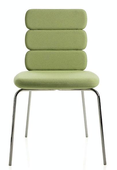 Chaise CLUSTY - 3 niveaux - 4 Pieds métal