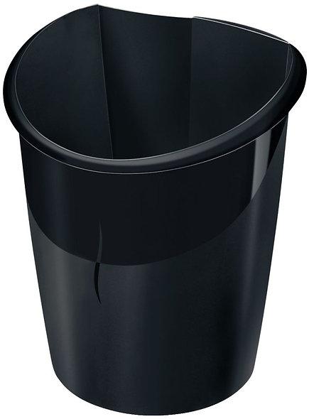 Corbeille à papier 15L noir