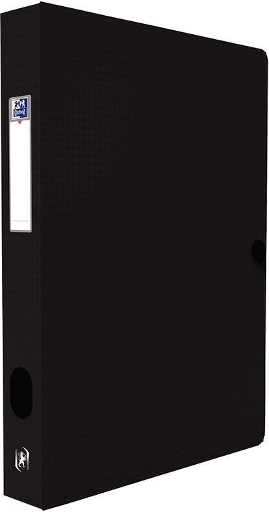 Boite de classement MEMPHIS en polypropylène, dos de 40 mm, coloris noir