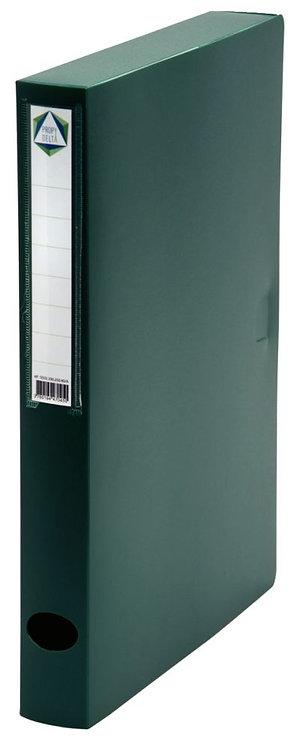 Boite de classement en polypropylène, dos 40 mm, coloris vert