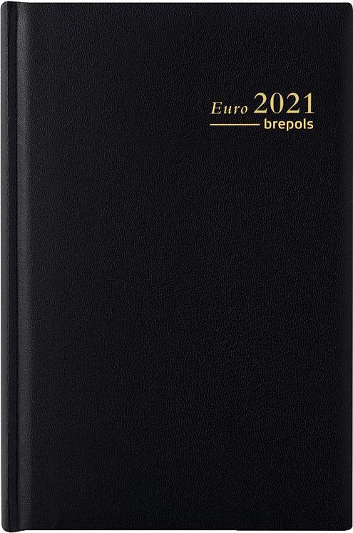 Agenda Euro 14,8 x 21 cm noir