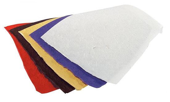Paquet de 10 feuilles de papier murier 38,5 x 51 cm