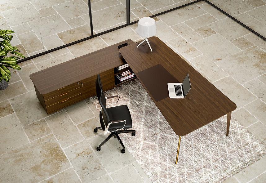 Bureau sur grand meuble porteur CONCORDE
