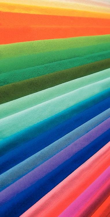 Paquet de 10 feuilles crépon ordinaire 200 x 50 cm couleurs assorties