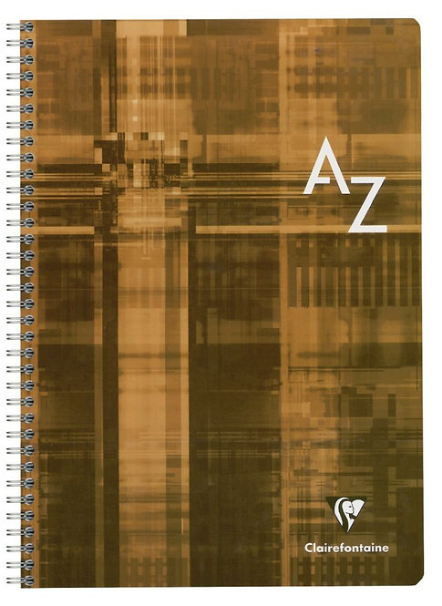 Répertoire reliure intégrale 180 pages, 21x29,7 cm, quadrillé 5x5. 90g