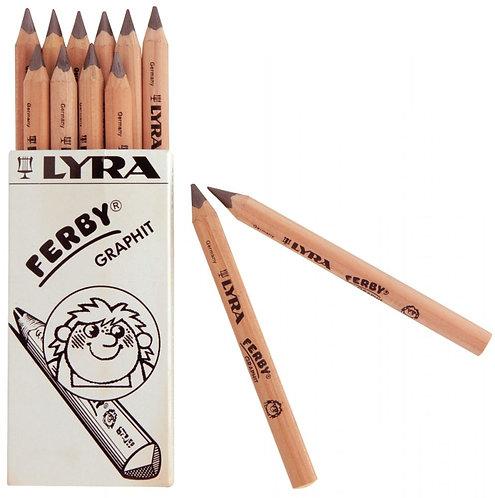 Boîte de 12 crayons graphite Ferby triangulaire 12 cm