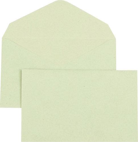 Boîte 500 enveloppes élection recyclées vertes 90x140 75 g/m²