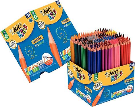 Classpack de 288 crayons de couleur Evolution dont 40 gratuits