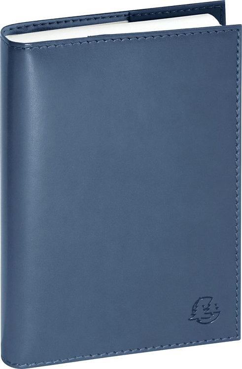 Agenda day to day volga 15 x 10 cm bleu acier