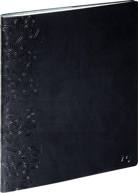Agenda semainier non stop winner 22,5 x 18 cm noir