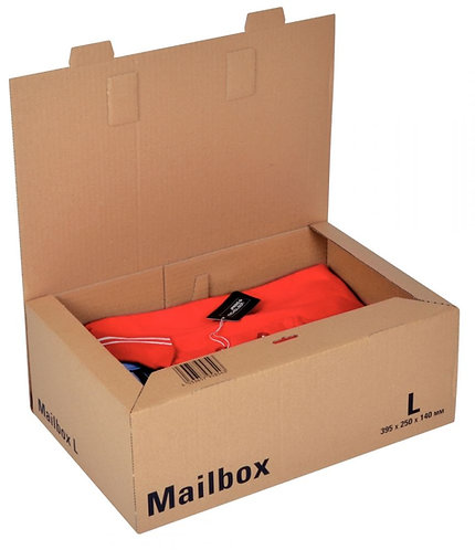 Paquet 15 mail box 395x250x140