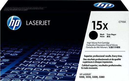 Cartouche laser à la marque HP C7115X noir haute capacité