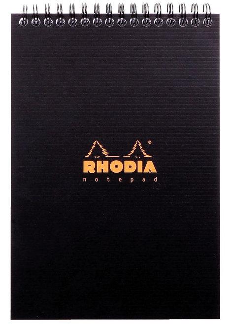 Bloc Notepad RHODIACTIVE à reliure intégrale 80 Feuillets microperforés A5
