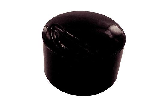 Blister de 10 punaises magnétiques, diamètre 12 mm.  Noir