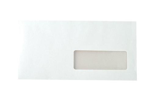 Boîte 500 enveloppes blanches DL 110x220 90g/m²