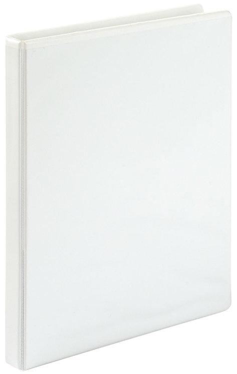 Classeur personnalisable format A4+ 4 anneaux diamètre 16 mm coloris blanc