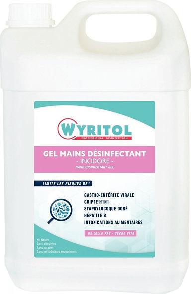 Recharge gel hydroalcoolique 5 litres