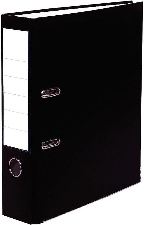 Classeur à levier plastique pour format A4 dos 5 cm noir