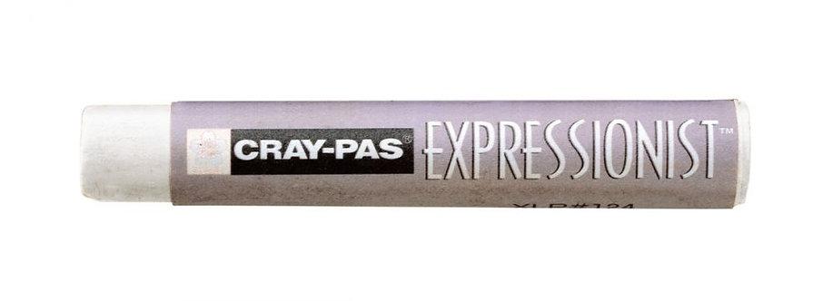 Boîte de 12 crayons pastels expression blanc