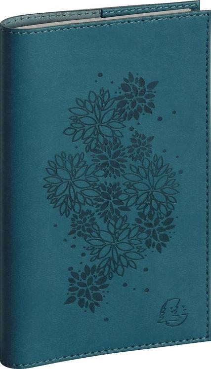 Agenda lady flora 16S bleu