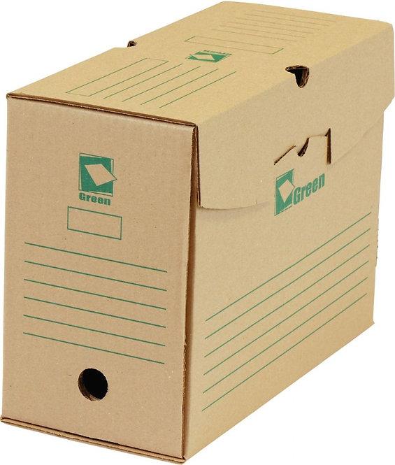 Paquet de 25 boîtes archives 34x25 dos de 15 GREEN