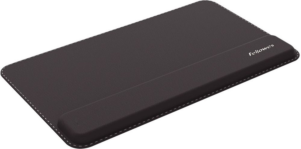 Repose poignet clavier Hana Series cuir noir