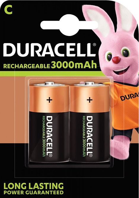 Blister de 2 accumulateurs NIMH DURACELL HR14