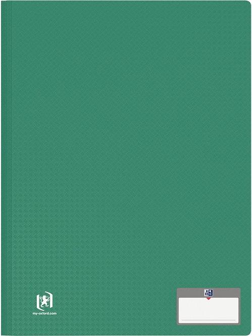 Protège-documents MEMPHIS 30 pochettes fixes 60 vues coloris vert