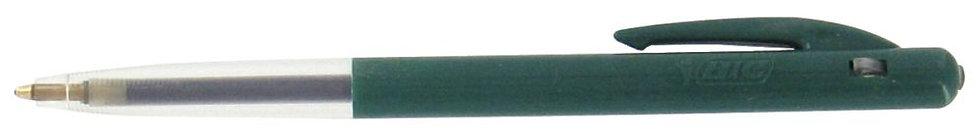 Stylo bille M10 rétractable pointe moyenne vert
