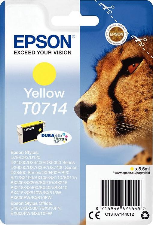 Cartouche jet d'encre à la marque Epson T071440 jaune