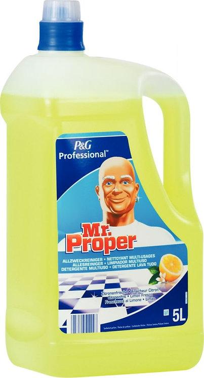 Bidon nettoyant MR PROPRE citron 5L