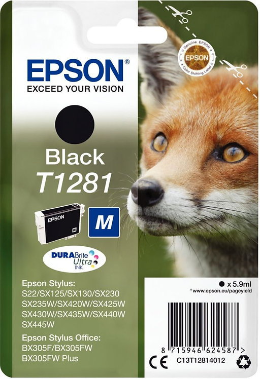 Cartouche d'encre à la marque Epson T128140 noir