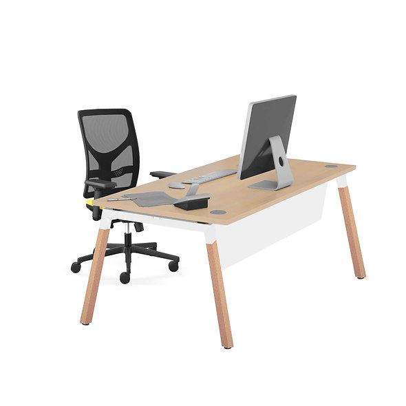 Table de bureau SOWOOD - Plan droit