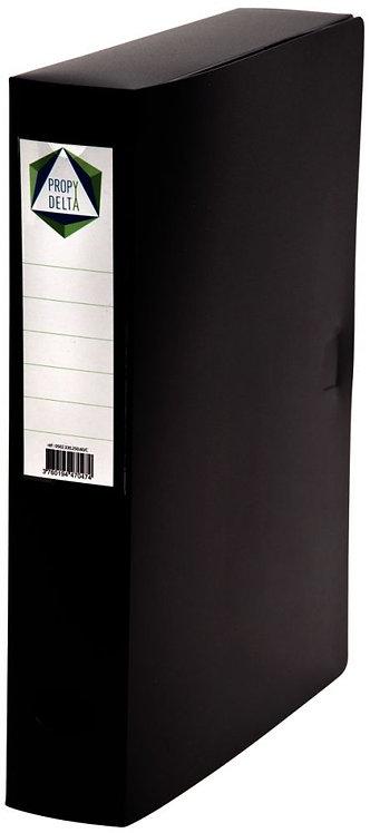 Boite de classement en polypropylène, dos 60 mm, coloris noir