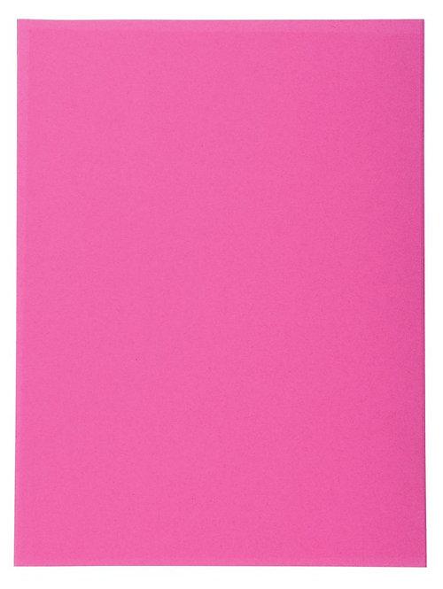 Paquet de 100 chemises 220g FOREVER 250 format 24x32 cm rose fuchsia