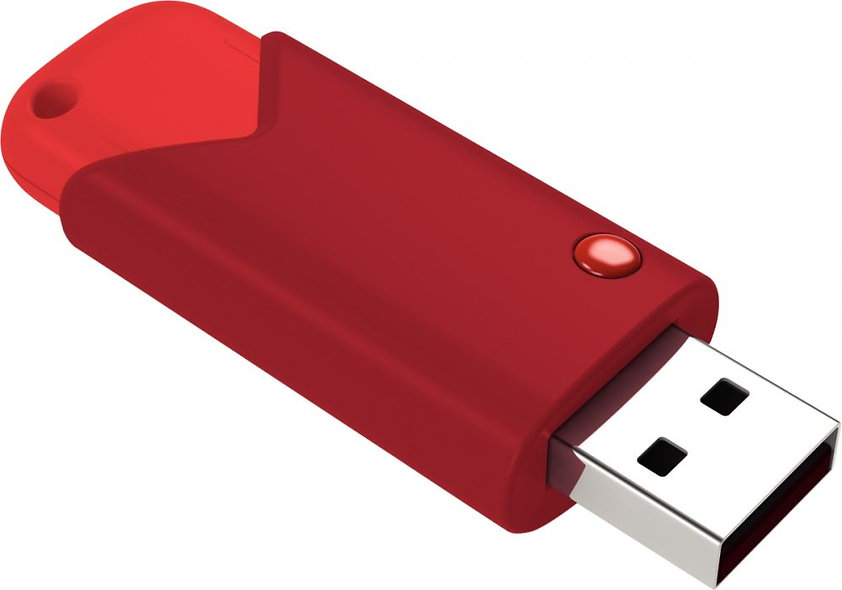 Clé USB Emtec  3.0 FAST 64Go rouge