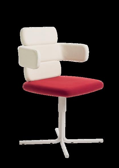Chaise CLUSTY - 3 niveaux - Pieds croix