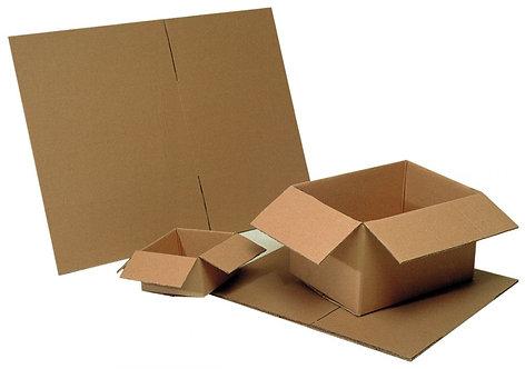 Paquet de 25 caisses américaines simple cannelure 160x120x110mm