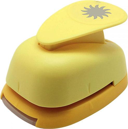 Perforateur déco 38mm soleil jaune