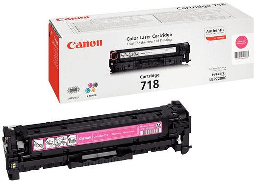Cartouche laser à la marque Canon 718 magenta