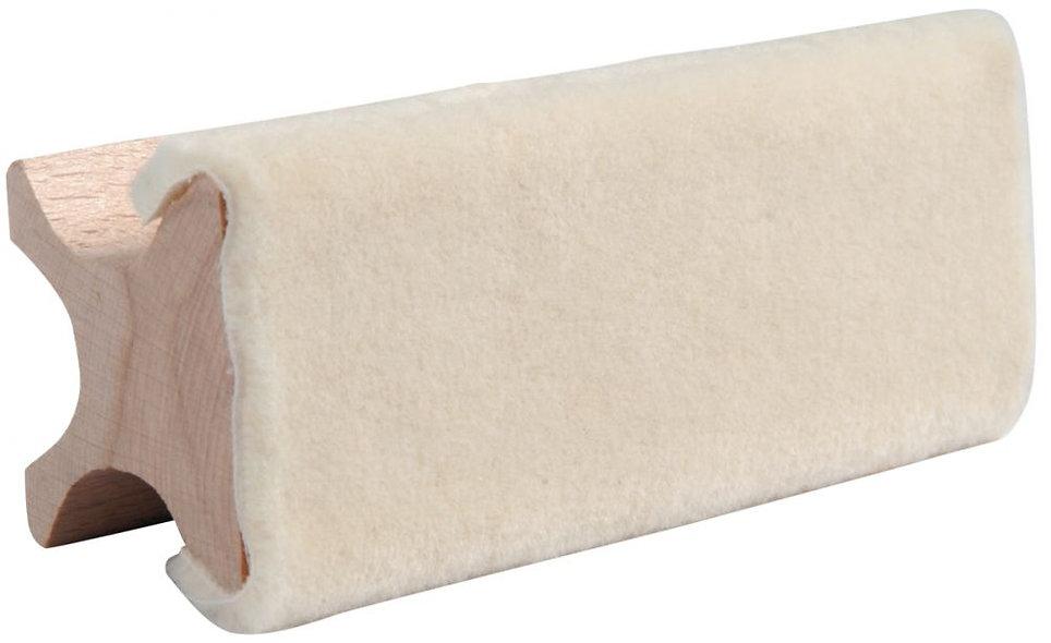 Brosse effaceur tableaux blancs 100% laine