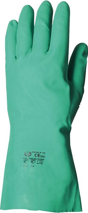 Paire de gants nitrile vert taille 08