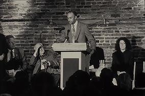Gerald Hawkes Speaking at Groundbreaking