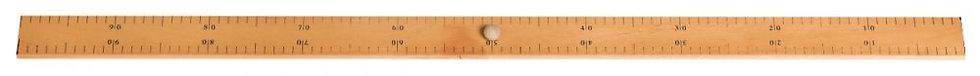 Règle plate à tableau 1 mètre
