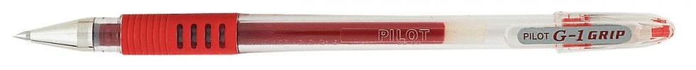 Stylo bille G1 grip fin 0,5 mm rouge