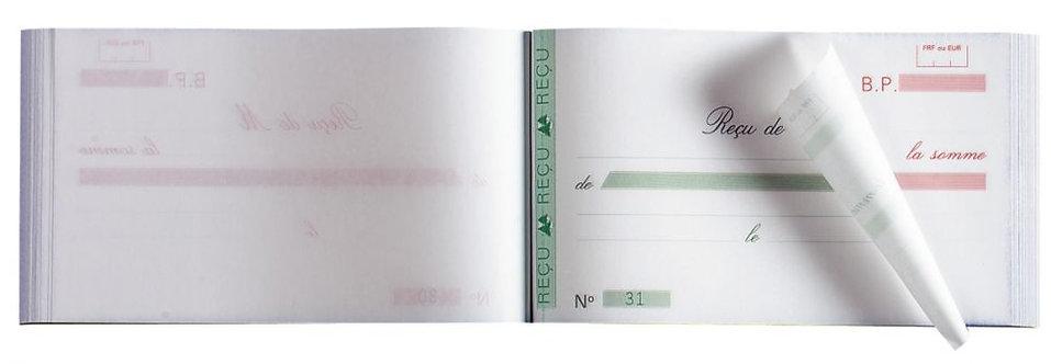 Manifold Reçus NCR 10,5 x 18 cm 50 duplicatas