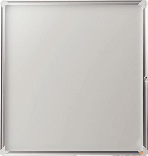 Vitrine d'extérieur fond métal Premium Plus 4 feuilles A4