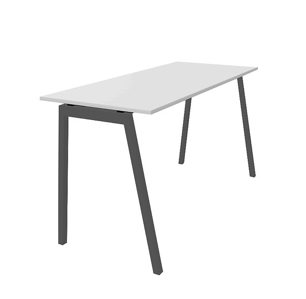 Table haute Olympe - Piétement Gris anthracite