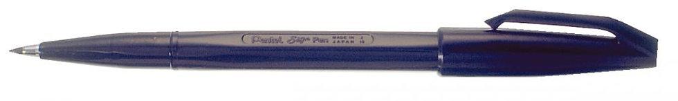 Stylo feutre Sign Pen S520 noir